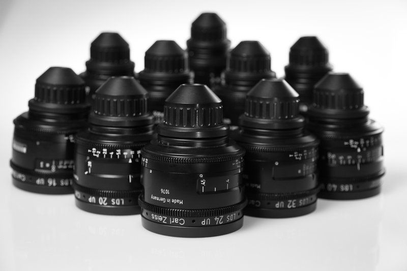 Линейка объективов Carl Zeiss Ultra Prime LDS