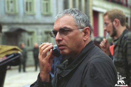 Режиссер Карен Шахназаров на съемках фильма «Всадник по имени смерть»